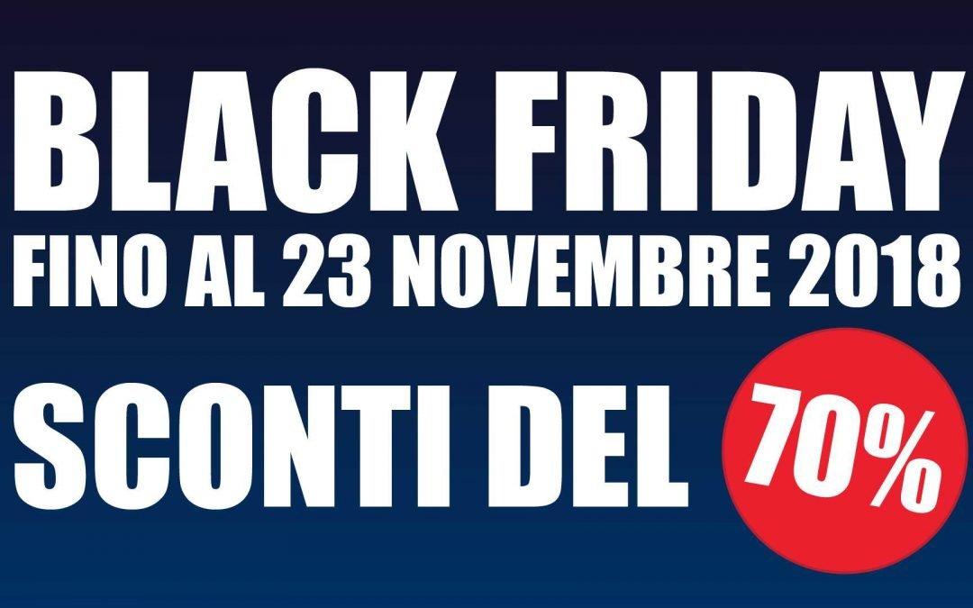 Black Friday -70% di Sconto su Fotoepilazione Laser, Trattamento Push-Up, Criolipolisi, Pressoterapia con Attivatore e RegenSkin