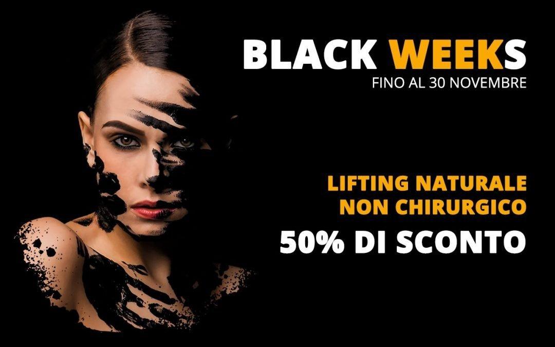 Lifting naturale non chirurgico – Ringiovanimento Viso con Radiofrequenza ed Ossigeno – Black Friday – Black Weeks