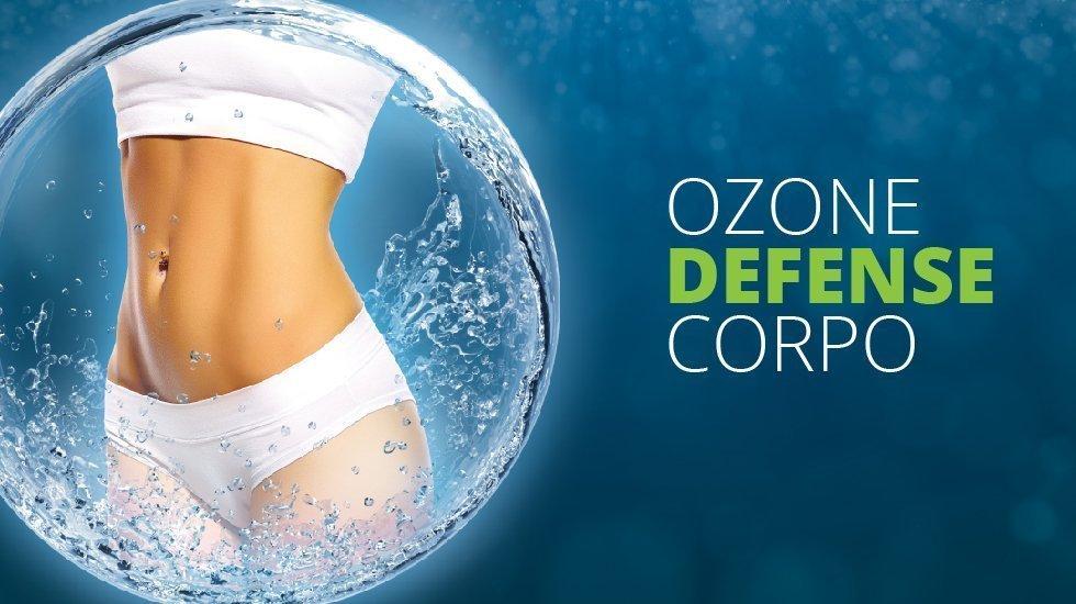 Ozone Defense Corpo – Trattamento Corpo Snellente, Tonificante, Modellante e Sanitizzante