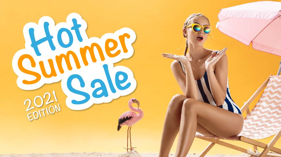 Hot Summer Sale 2021 Edition – Relax come in Vacanza!